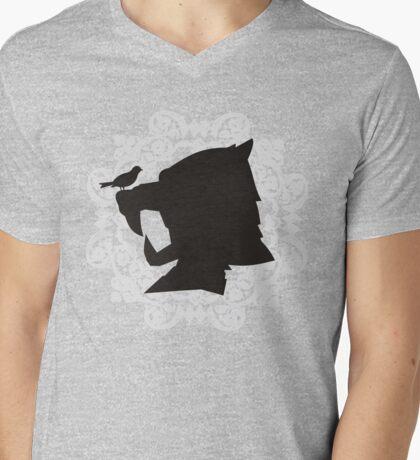 The Hound's Helm Mens V-Neck T-Shirt
