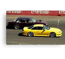 Yellow Missile Canvas Print