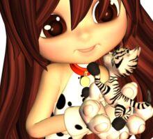 Kitty Cutie Pie Sticker