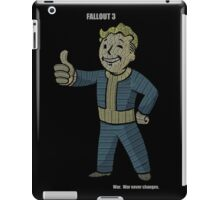 Fallout 3 Vault Boy typography iPad Case/Skin