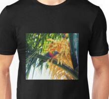 Parrots on my Palm! Unisex T-Shirt
