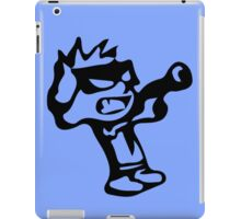 Spiff's Death Ray (Blue) iPad Case/Skin