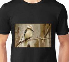Kookaburra on a Gum tree Unisex T-Shirt