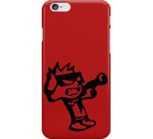 Spiff's Death Ray (Red) iPhone Case/Skin