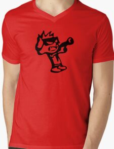 Spiff's Death Ray (Red) Mens V-Neck T-Shirt