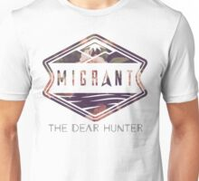 The Dear Hunter Migrant logo Unisex T-Shirt