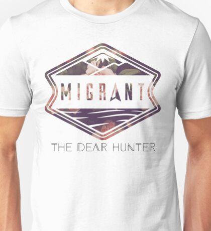 The Dear Hunter Migrant logo Unisex T-Shirt