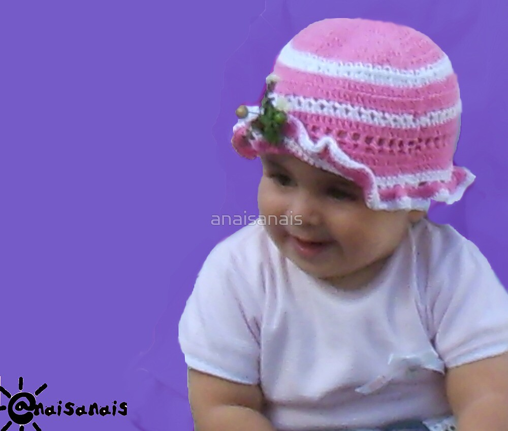 Camilla, and a Beautiful Crocheted  hat by anaisanais