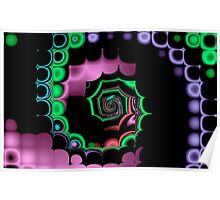 TGS Fractal Abstract Poster