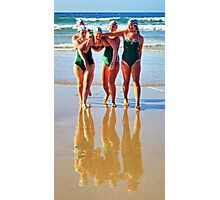 Anglesea girls compete Photographic Print