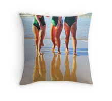 Anglesea girls compete Throw Pillow
