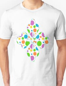 Colorful Polka Dots Unisex T-Shirt