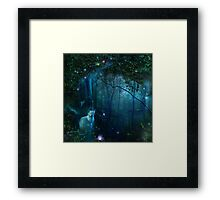 Celestial Cat Framed Print