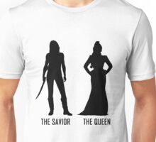 Emma and Regina - Dark Shadows Unisex T-Shirt