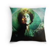 fear & loathing of mankind Throw Pillow