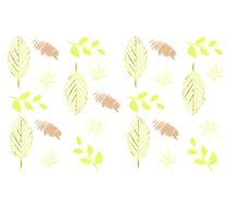 Leaves Pattern Photographic Print