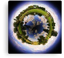 Quart Pot circular Panorama Canvas Print
