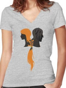 Bound by Hound Women's Fitted V-Neck T-Shirt