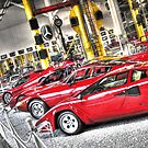 THOUGHTS OF FERRARI  by MIGHTY TEMPLE IMAGES