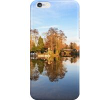 River Wey, Pyrford, Surrey iPhone Case/Skin