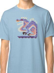 Jaggi Monster Hunter Print Classic T-Shirt