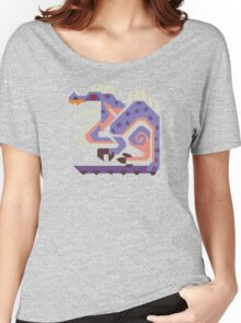 Jaggi Monster Hunter Print Women's Relaxed Fit T-Shirt