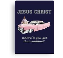 Where'd You Get That Cadillac? Canvas Print
