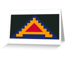 Seventh United States Army Greeting Card