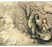 French Red Riding Hood by littlerosered