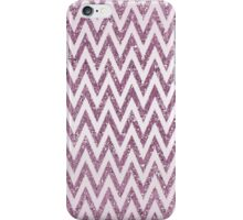 Pink Glittery Chevron Ombre iPhone Case/Skin