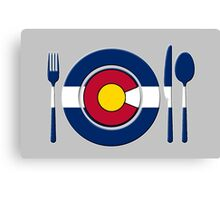 High Altitude Cookin - Colorado Canvas Print