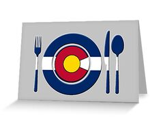 High Altitude Cookin - Colorado Greeting Card