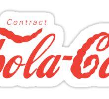 Ebola-Cola Sticker