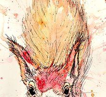 Hazel Squirrel by VintageGuinea