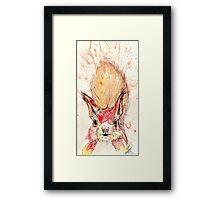 Hazel Squirrel Framed Print