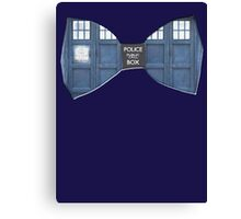 """Bow Ties ARE Cool."" - Dr. Who (Bow tie image only) Canvas Print"