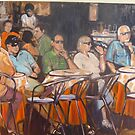 """Cafe' please"" by Wendie Patch by wendie patch"