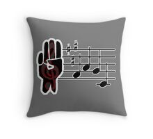 Song of the Liberated - The Hunger Games Throw Pillow