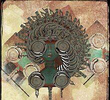 hydranta- portrait of a mechanical girl by bepi
