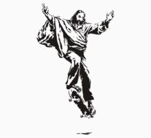 Ollie Christ (black on light tee) by spadaman