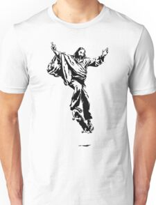 Ollie Christ (black on light tee) Unisex T-Shirt