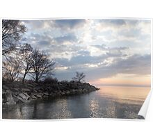 Lakeside Peace And Tranquility Poster