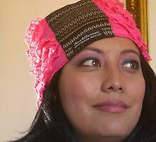 (533) Amsterdam Mexico turban (card) by Marjolein Katsma