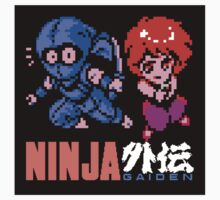 Ninja Gaiden (sticker) by Lupianwolf
