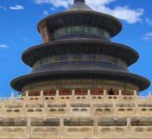 Temple of Heaven, Beijing, China Sticker
