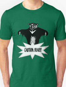 Steel Ball Run - Caution: Bears ! T-Shirt