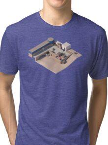 de_dust2 A Site CSGO Tri-blend T-Shirt