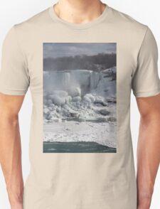 Niagara Falls Ice Buildup - American Falls, New York State, USA T-Shirt