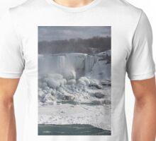 Niagara Falls Ice Buildup - American Falls, New York State, USA Unisex T-Shirt