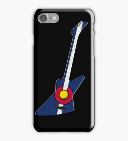 Colorado Rocks Hard! iPhone Case/Skin